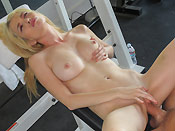 Tiffany Fox Has A Sexual Work Out Buddy - Picture 6
