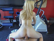 Tiffany Fox Has A Sexual Work Out Buddy - Picture 9