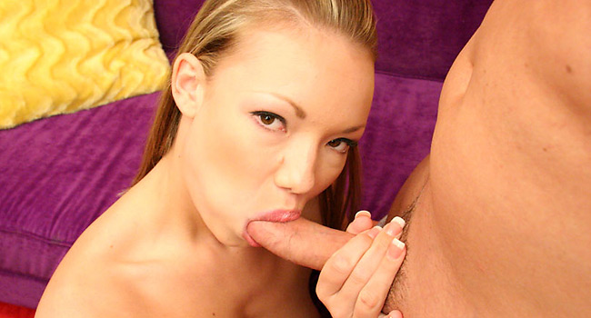 Maya - Barely legal blonde princess Maya Hills blowjob and riding your dick