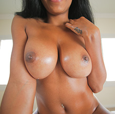 Hot Ebony Babe Anya Ivy Sucks And Fucks Huge Cock - Picture 11