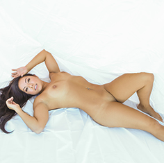 Asian Teen Morgan Lee Bed Sheet Sex - Picture 6