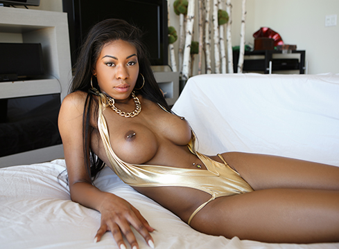 Tiny Ebony Princess Nadia Jay Gets A Huge Cock - Picture 5