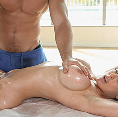 Breast bondage and tit torture