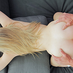 Sexy Blonde Lexi Davis Gives A Foot Massage - Picture 9