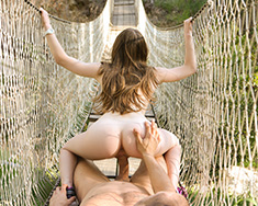 Sweet Lost Teen Camper Alice March Found By Hot Stud - Picture 6