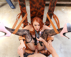 Redhead Dani Jensen Gets Tied Up - Picture 5