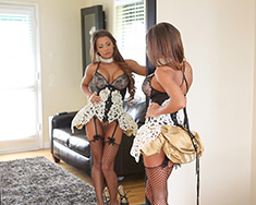 Madison Ivy Is Dressed As A Sexy French Maid - Picture 13