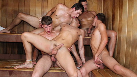 sex Nude sauna gay men in