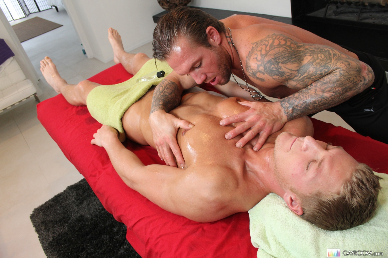 gay men massage