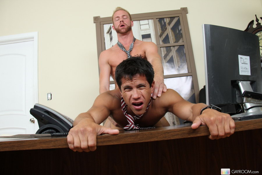 hot gay office sex