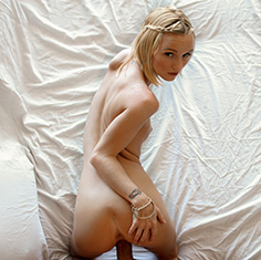 Sexy Sammie Daniels Shaves Sucks And Fucks Her Hot Stud - Picture 9