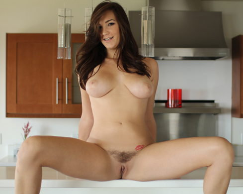Holly Michaels Goes From One Hard Cock To The Next - Picture 1