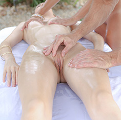 Tali Dova Gets A Massage Poolside Before A Hot Fuck Session - Picture 9