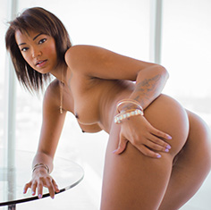 Hot Ebony Chick Harley Dean Rides The Cock Like A Champ - Picture 2