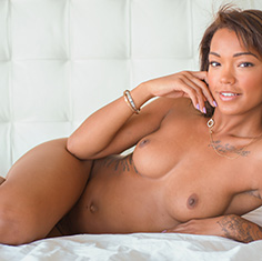 Hot Ebony Chick Harley Dean Rides The Cock Like A Champ - Picture 6