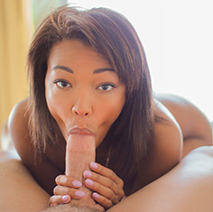 Hot Ebony Chick Harley Dean Rides The Cock Like A Champ - Picture 8
