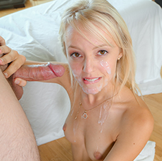 Blonde Teen Sierra Nevadah Relaxes With A Rub Down - Picture 6