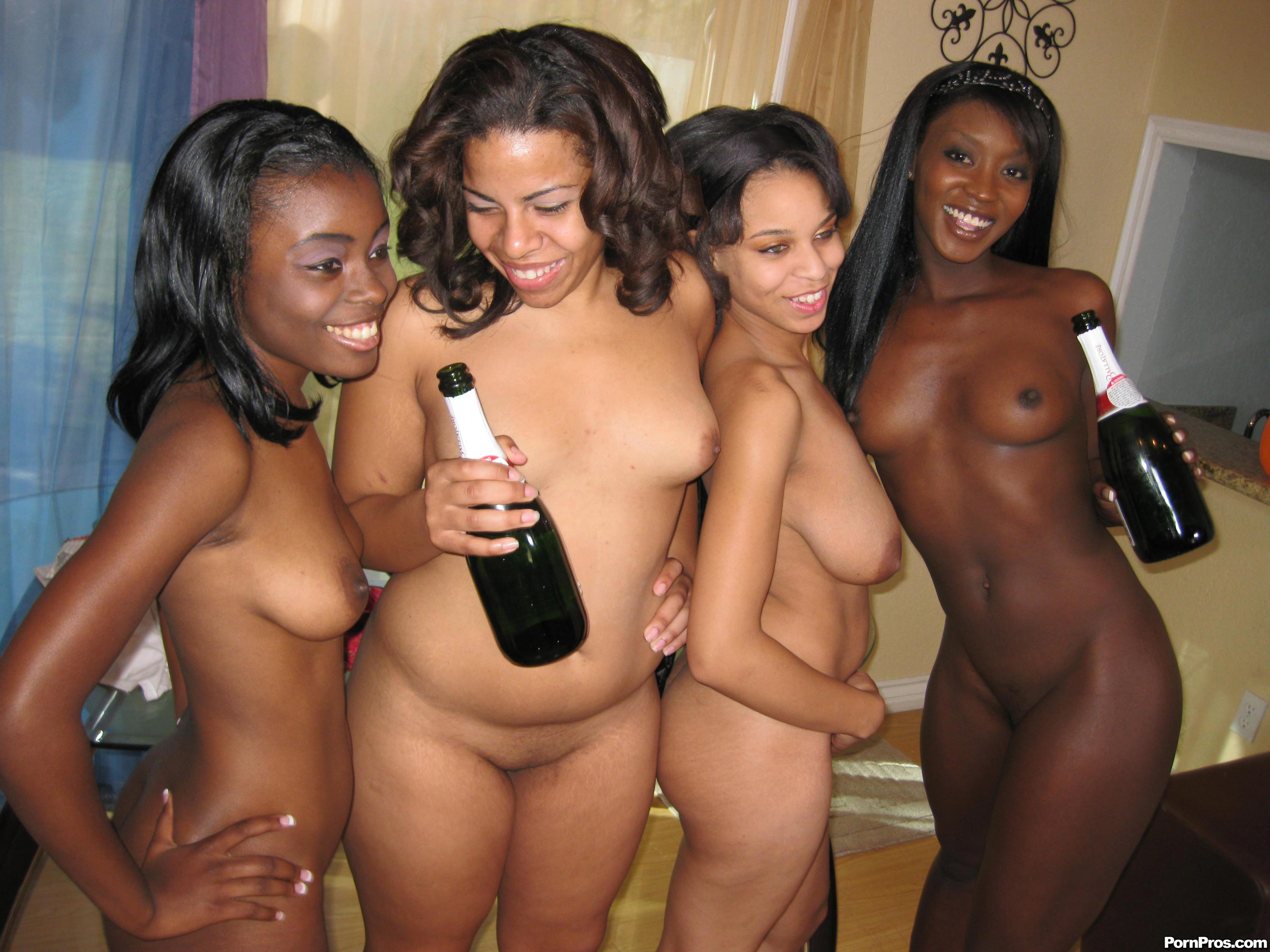 party black girl nude