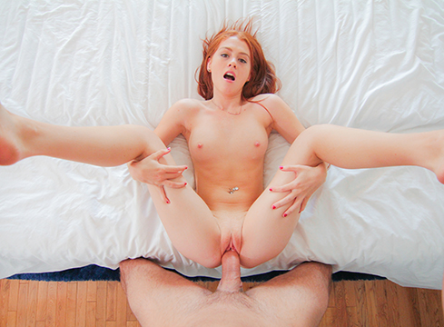 Ginger Girl Alice Green Brings Home A Stranger To Pound Her Ass - Picture 4