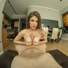 Dillion Carter Tries On Some New Panties Right In Front Of Her Man - Picture 11
