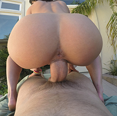 Sexy Teen Rahyndee James Sun Bathes Poolside - Picture 14