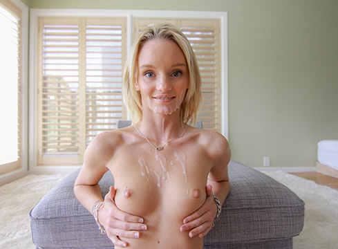 Petite Blode Sammie Daniels Gets Railed Pov Style - Picture 13