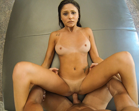 Ariana Marie Gets Slammed By Pool - Picture 1
