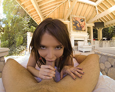 Petite Girl Tiffany Fox Squirts For Pov - Picture 12