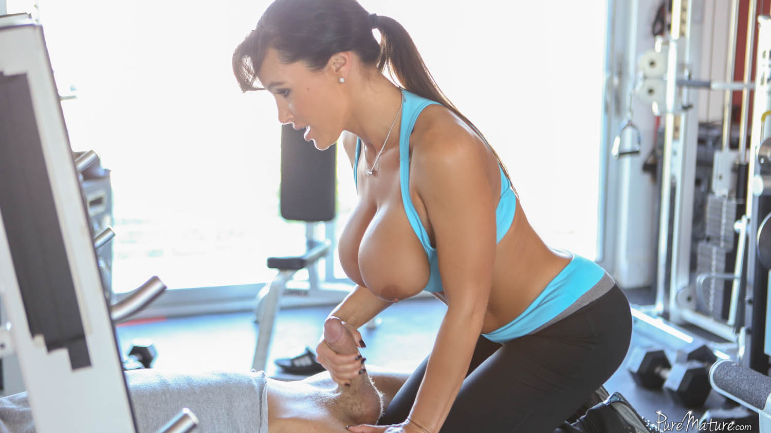 image Mature gym fuck first time puppy love