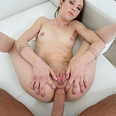 Petite Teen Alexa Nova Stuffs Her Ass With A Thick Dick - Picture 9