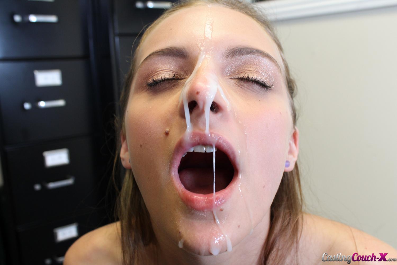 Amateur wife bbc facial