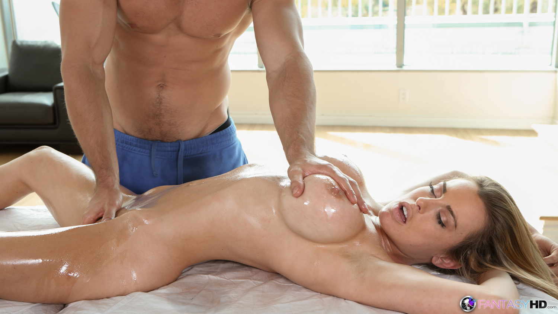 Massage sex cum