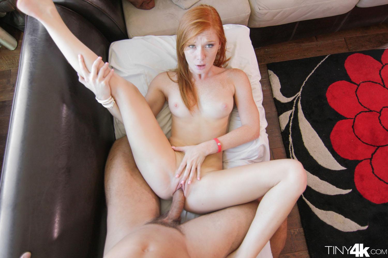 Sexy little redhead fuck